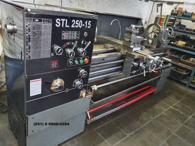 Torno Mecânico Strong STL 250 - Torno Mecânico - Torno - Usinagem - Metalurgica - Foto 2
