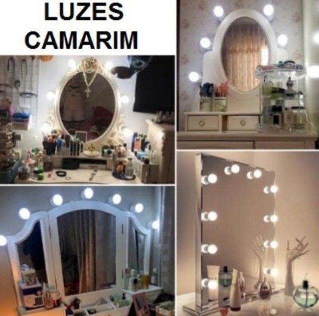 Luz de Espelho Camarim Led Ring Ligth - Foto 3