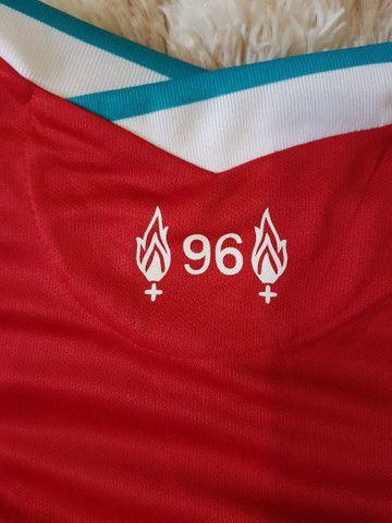 Camisa Liverpool L.F.C Nova - Foto 2