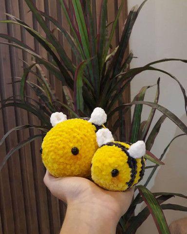 Vendo kit de abelhinhas lindas de crochê... - Foto 2