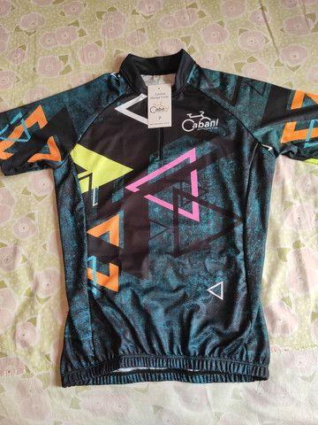 Camisa feminina ciclismo *