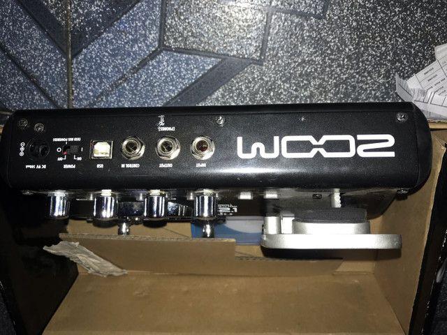 Vendo uma ótima pedaleira de marca zoom G2.1NU, semi nova sem marcas de uso  - Foto 3