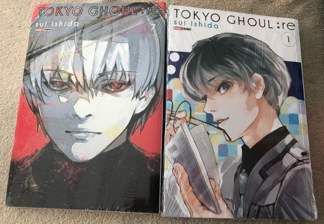 Tokyo Ghoul:RE 1 e 7 LACRADO (Versão antiga)