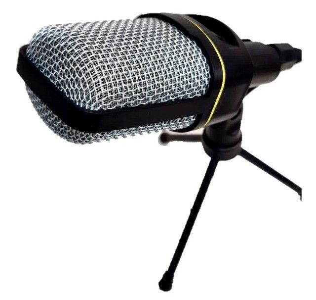 Microfone Condensador Multimídia Mic-8641 Youtuber Vozes - Foto 2
