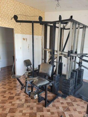 Estação de musculação multifuncional é uma academia completa  - Foto 4