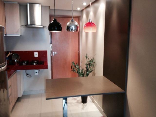 Apartamento 1 quarto 32 m2 vaga Mobiliado, vista livre, Lazer completo Águas Claras-DF