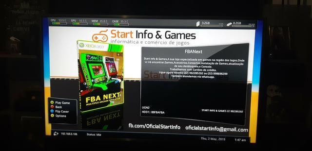 Xbox 360 com 49 jogos