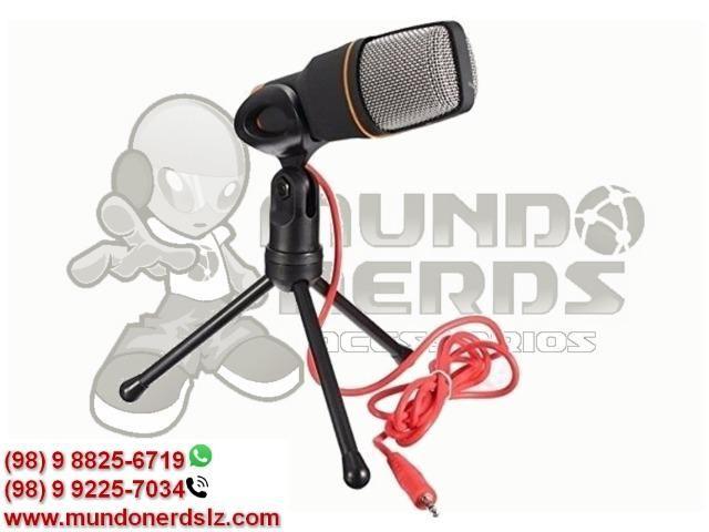 Microfone Condensador Profissional para Gravar Videos Lelong LE-908 em São Luís MA - Foto 3