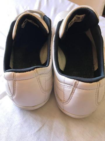 4cde6485b9 Tênis Lacoste Branco de Couro original número 42 (venda) - Roupas e ...