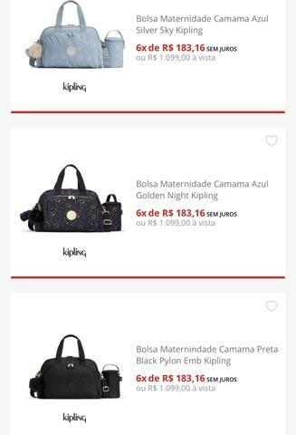 ca2433dfd Bolsa maternidade kipling original azul marinho - Bolsas, malas e ...