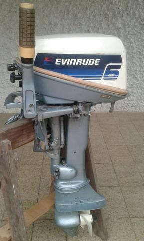 Motor Evinrude 6hp - Barcos e aeronaves - Jardim Guanabara
