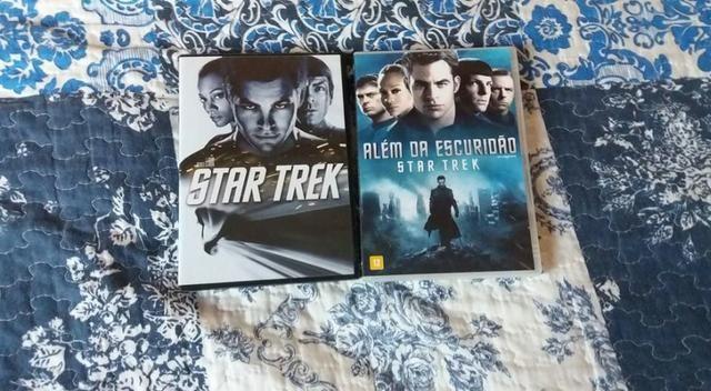 DVD filme Star Trek 1 e 2