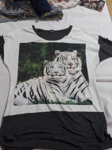 Blusa Tigre Branco
