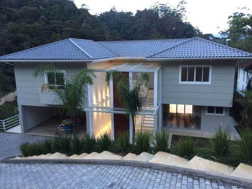 Casa de condomínio à venda com 4 dormitórios em Quitandinha, Petrópolis cod:126