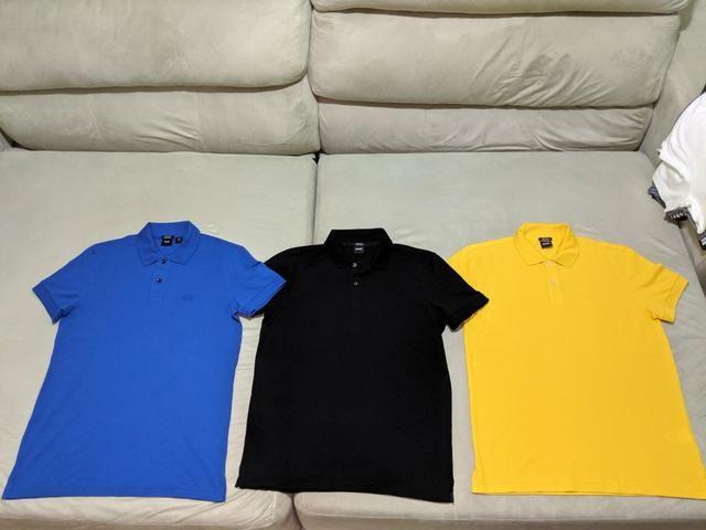 Camisa Hugo Boss 100% originais m g gg