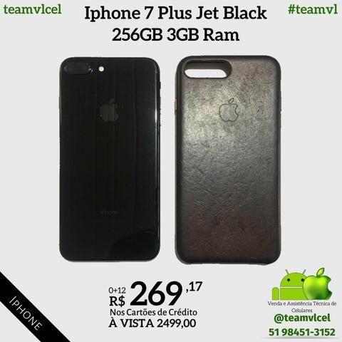 Iphone 7 Plus Jet Black 256gb - Foto 2