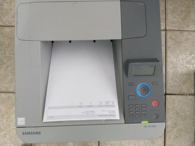 Impressora samsung ml 5010 seminova - Foto 6