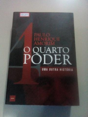 Livro Paulo Henrique Amorim o quarto poder