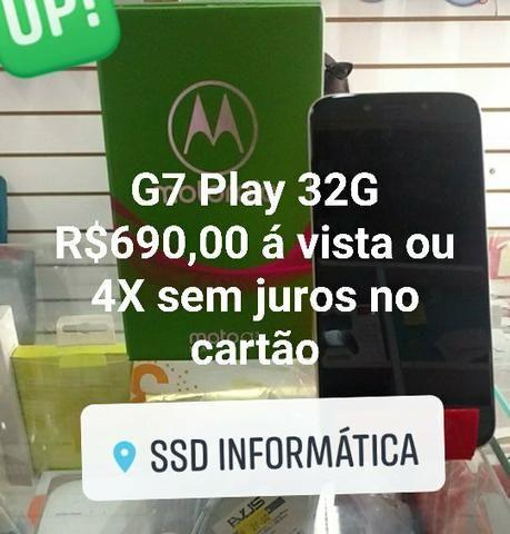 Smartphone Moto G7 Play 32G