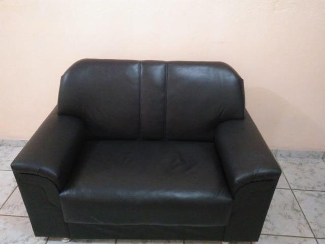 Sofá de couro sintético - Foto 3