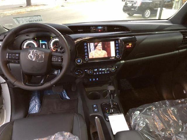 Toyota Hilux SRX 2.8 Branco Perola 2020 0KM - Foto 11