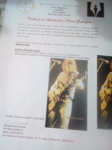 Fotos autografadas com certificados 50,00 cada - Foto 3