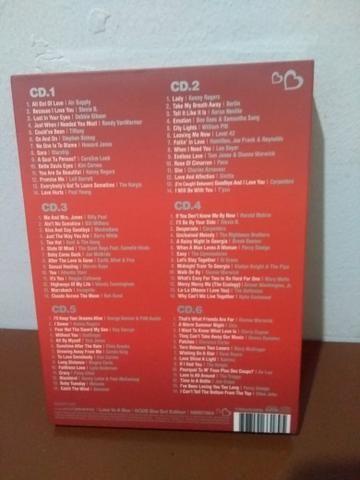 Box com 6 cd's Românticos nunca usado - Foto 2