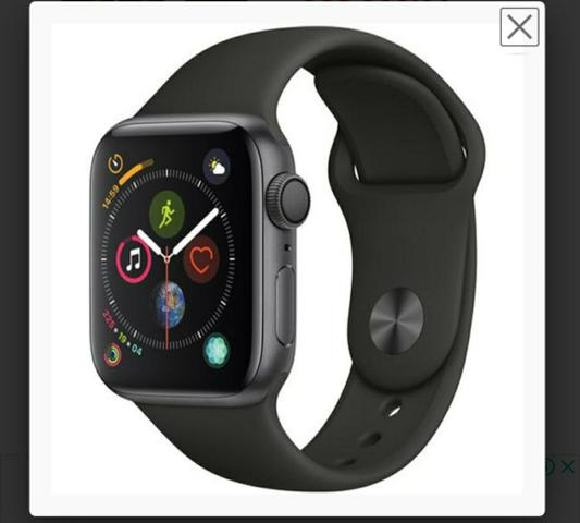 Apple Watch S4 MU662LL/A GPS 40MM Black Sports Band