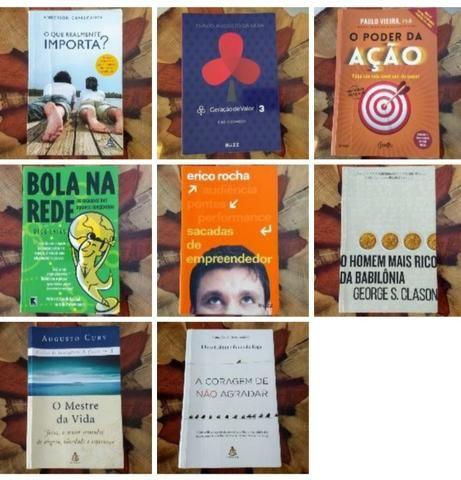 Livros - Leia a descrição