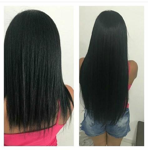 Vendo duas tellas cabelo humano