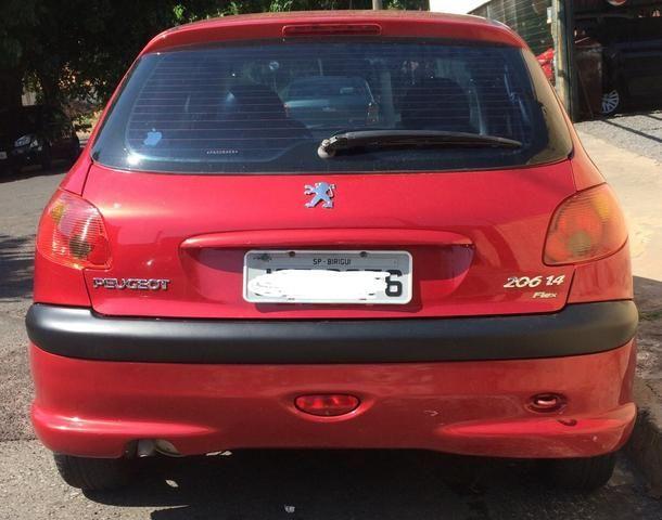 Peugeot 206 1.4 flex - Foto 2