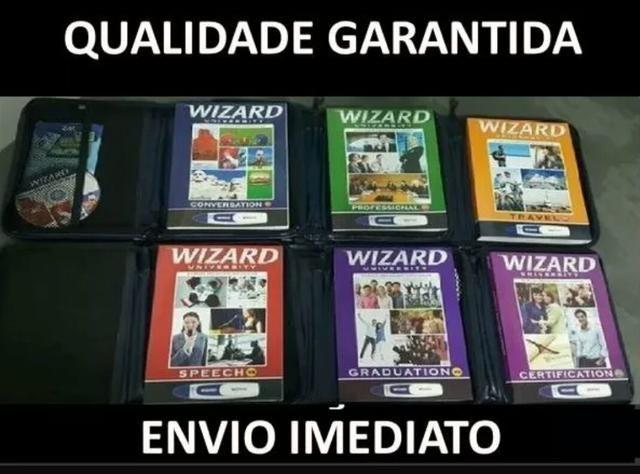Livros wizard Inglês do w2 até o w12 ++ brinde wizard francês ++ wizard espanhol