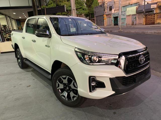 Toyota Hilux SRX 2.8 Branco Perola 2020 0KM