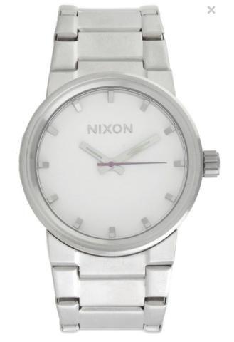 Relógio Nixon Cannon prata