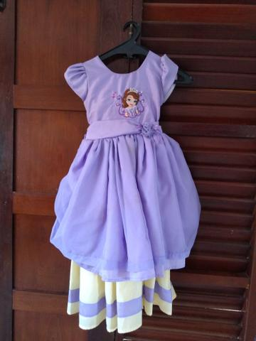 Vestido temático princesa Sofia - Foto 3