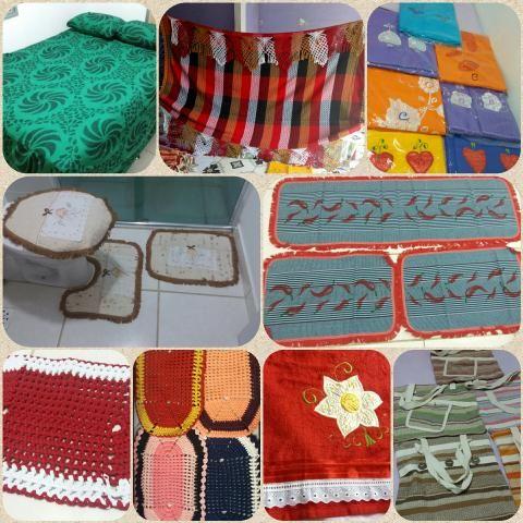 Venda de artigos de cama, mesa, banho, tapetes, bolsas fio de algodão, redes e afins