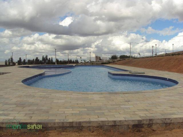 Terreno à venda, 360 m² por R$ 90.000,00 - Condomínio Bellevue - Garanhuns/PE - Foto 4