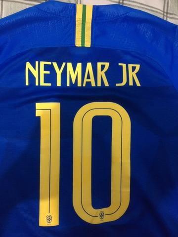 Camisa Seleção Brasileira Oficial Tam G - Foto 2