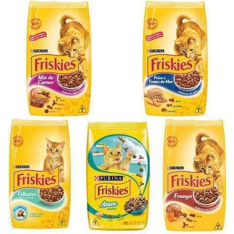 Ração Friskies para gatos (Fazemos Entrega!)