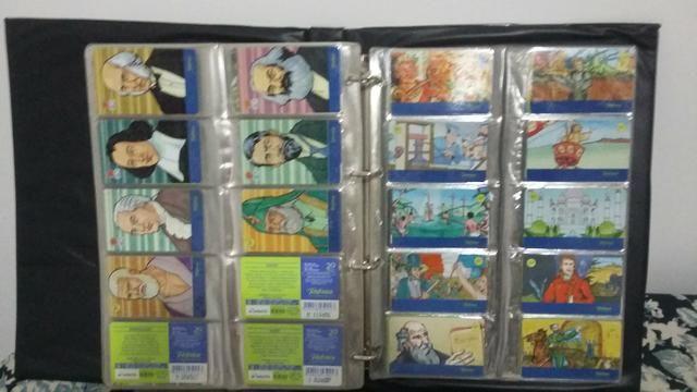 Coleção Cartões Telefonicos
