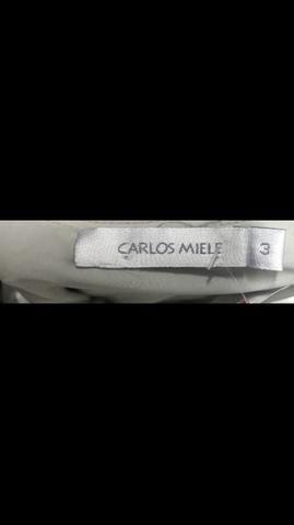 Vestido Carlos Miele, tamanho 40, maravilhoso, Legítimo , MIDI - Foto 5