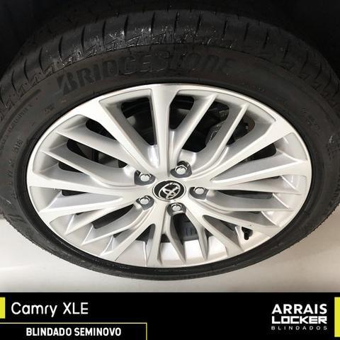 Toyota camry 2018/2018 3.5 xle v6 24v gasolina BLINDADO - Foto 6