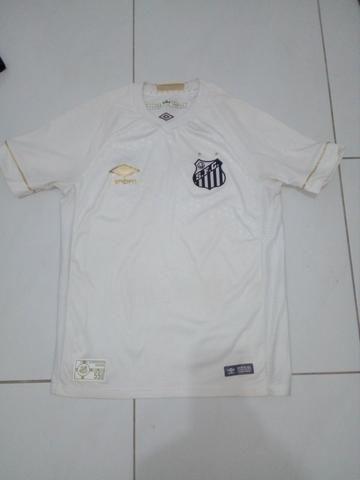 Camisa Santos branca Umbro 2018
