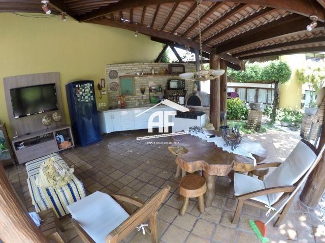 Casa construída em 2 lotes no condomínio Jardim do Horto - Área de lazer completa - Foto 4