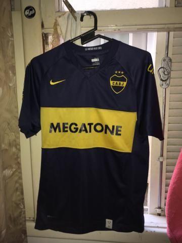 Camisa Boca Juniors 2008 tamanho M