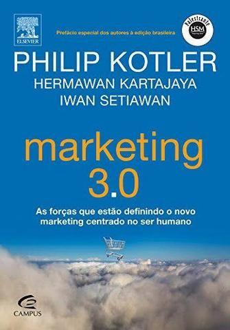 Livro Marketing 3.0 - Philip Kotler