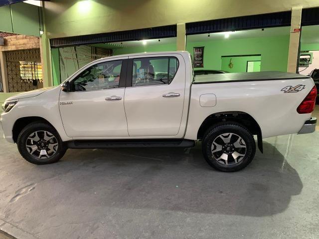 Toyota Hilux SRX 2.8 Branco Perola 2020 0KM - Foto 5
