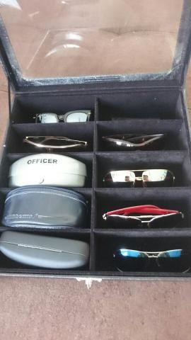 Estojo Porta Óculos de Sol - Bijouterias, relógios e acessórios ... a66a65c648
