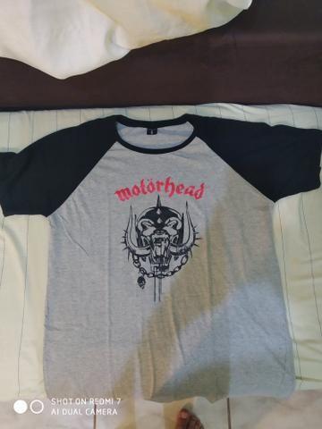 Camisas de rock Motorhead e Metallica 2 por 70$ - Foto 5