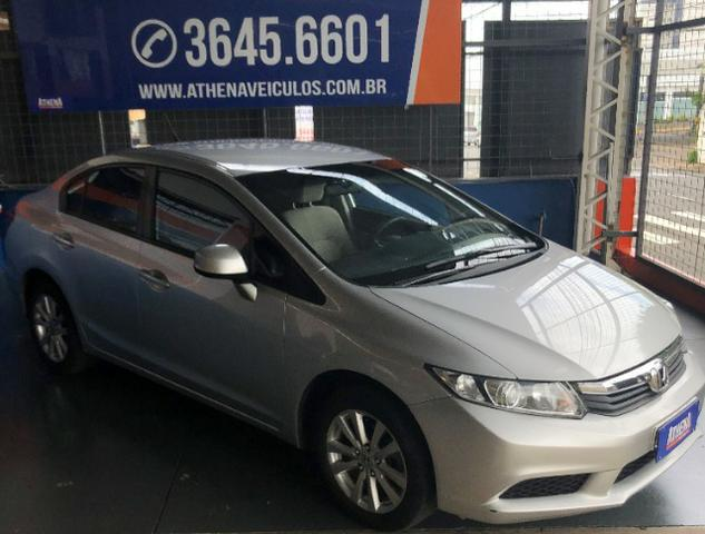 Honda Civic Lxs 1.8 Flex Automático Completo - 2015